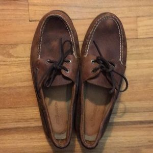 G.H Bass & Co. Leather Boat Shoes